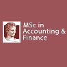 MSc in Accounting and Finance